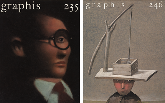 Graphis covers