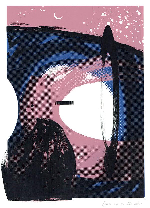 de ring - screenprint - 29 x 20 cm