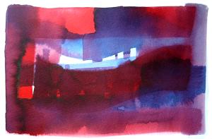 aqua 4 - watercolour sketch