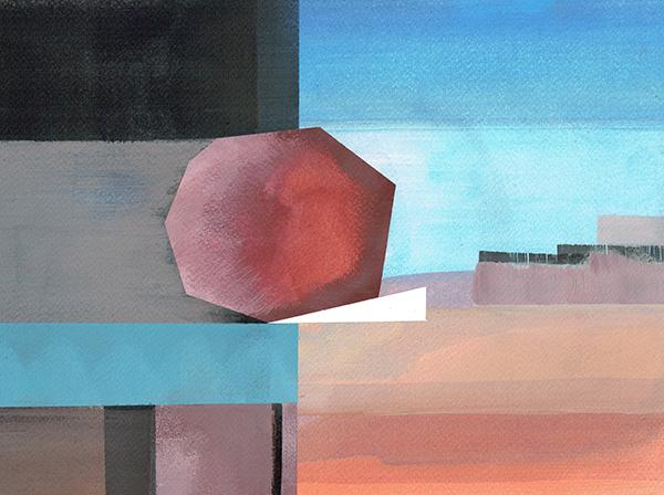 aqua 9 - watercolor - 31 x 24 cm
