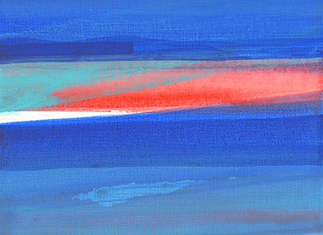 colorwave 1 - acrylics - 20 x 25 cm